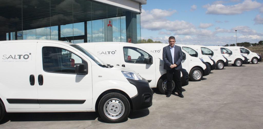 Group Saltó adquiere una nueva flota de vehículos