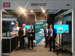IOT World Congress, stand de Group Salto