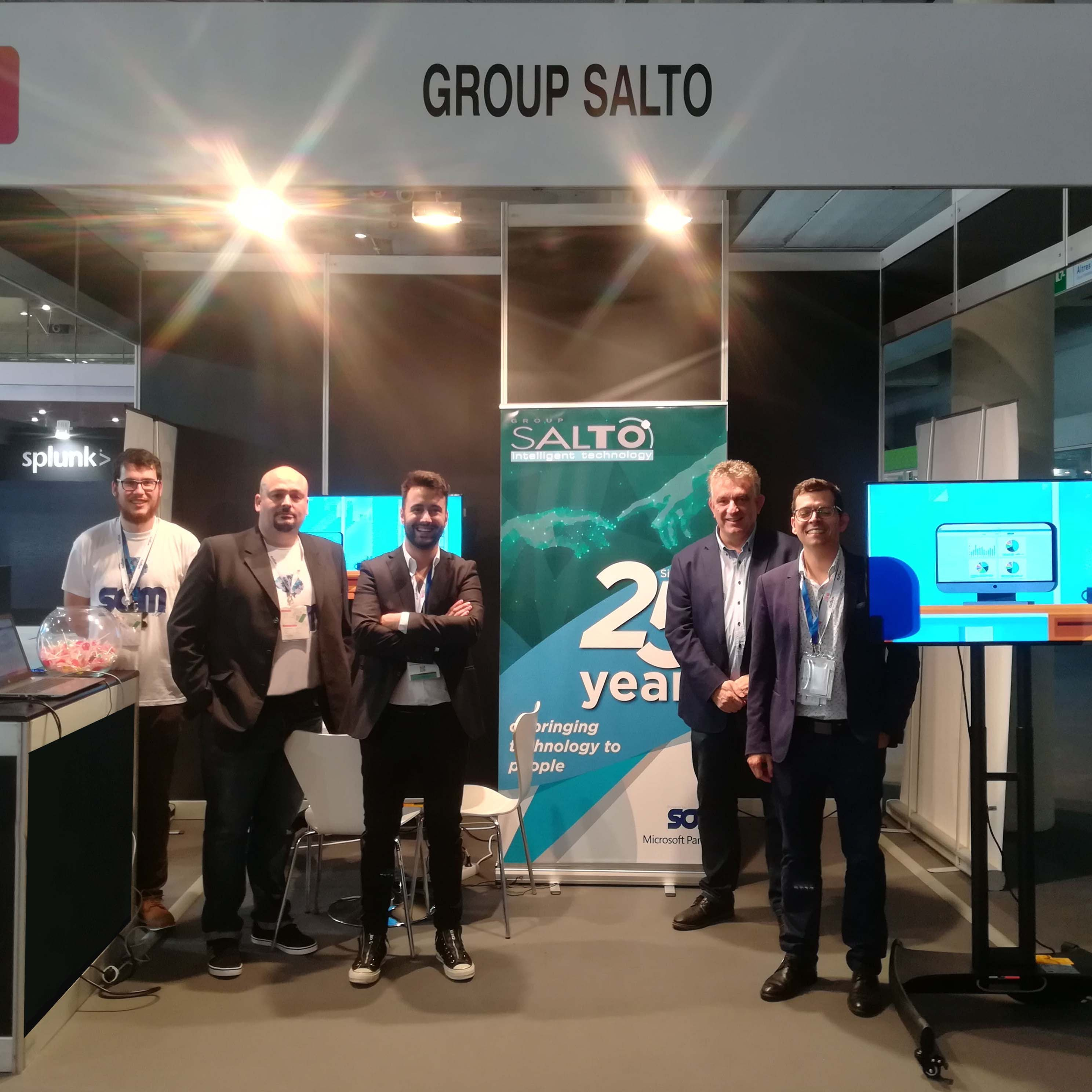 IOT World Congress, stand de Group Salto